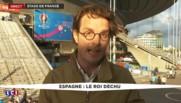 """Italie-Espagne : ambiance """"bouillante"""" à l'intérieur du stade"""
