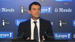 """Le 13 heures du 1 septembre 2013 : Valls : """"Le pire serait encore de ne rien faire"""" - 582.268"""