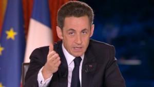 """Nicolas Sarkozy dans """"Face à la crise"""""""