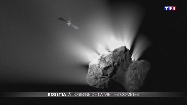 Rosetta : la vie sur Terre arrivée de l'espace ?