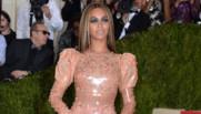 Beyoncé ravissante au Met Gala de New York.