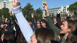 étudiants vote reprise cours CPE Montpellier III