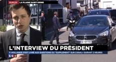 """François Hollande au """"Supplément"""" sur Canal + : un président """"détendu et un peu plus humain"""""""