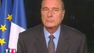 Jacques Chirac riposte