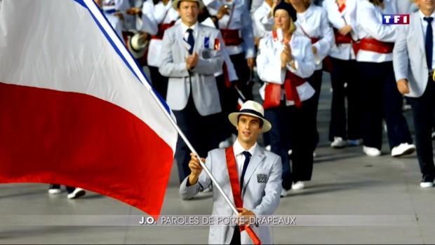 Jeux Olympiques : le judoka Teddy Riner porte-drapeau