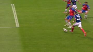 Ribéry marquant le 1er but contre le Costa-Rica le 26 mai 2010