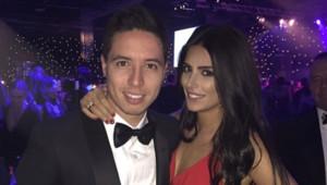 Samir Nasri et Anara Atanes