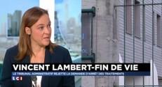 Vincent Lambert : le tribunal administratif rejette la demande d'arrêt des traitements