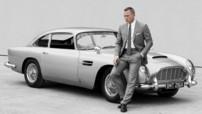 Daniel Craig et l'Aston Martin DB5 pour le 23 opus de James Bond,