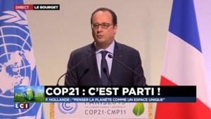 """François Hollande ouvre la COP 21 : """"Nous allons décider en quelques jours pour quelques décennies"""""""