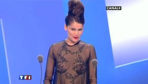 Incroyable Casta à la soirée des César, le 27 février 2010