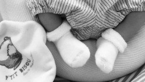 ingrid chauvin bébé