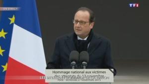 Le discours de François Hollande aux Invalides.