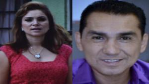 Le maire d'Iguala José Luis Pineda et sa femme Maria de los Angeles Pinada.