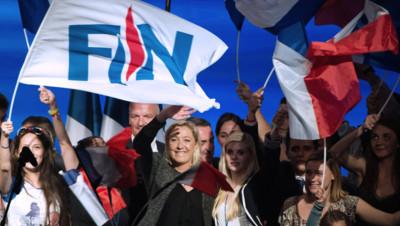 Marine Le Pen, à Marseille, le 15 septembre 2013.