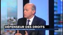 """Racisme : le défenseur des droits Jacques Toubon voit """"une France en tension"""""""