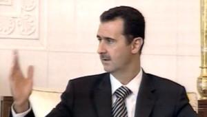 bashar al assad syrie damas