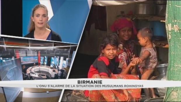 Birmanie: l'ONU s'alarme de la situation des musulmans Rohingyas