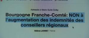 En Bourgogne, une pétition contre l'augmentation des élus régionaux