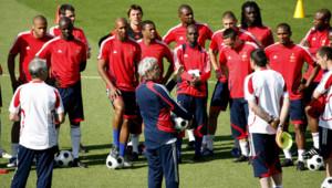 equipe de france entrainement euro 2008
