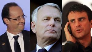 Forte popularité pour François Hollande, Jean-Marc Ayrault et Manuel Valls, selon un sondage BVA publié le 29 mai 2012.