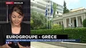 """Réunion de l'Eurogroupe sur la Grèce : """"L'Allemagne ne lâchera rien"""""""