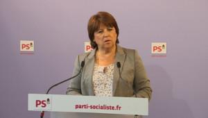 Aubry PS DSK New-York Hollande