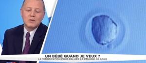 """Congélation des ovocoytes : """"Beaucoup d'avantages"""", selon le professeur Hirsch"""