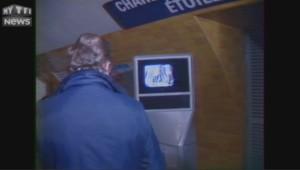 en 1986, il y avait des télévisions dans le métro