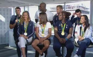 Rio 2016 : les premières confidences de huit médaillés tricolores sur TF1