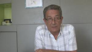 Jean-Claude Carvin, le maire de Rive-de-Gier, dans la Loire