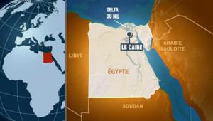 Carte Egypte