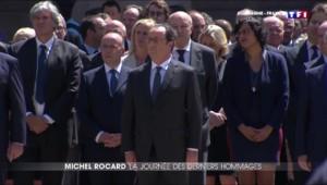 Cinq jours après sa mort, les derniers hommages à Michel Rocard