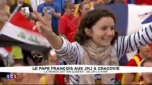 JMJ en Pologne : des centaines de milliers de personnes venues voir le pape François