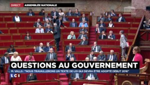 """""""La volonté de réforme, c'est mon gouvernement qui l'incarne"""", affirme Manuel Valls"""
