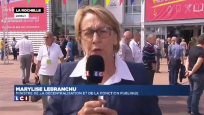 """Marylise Lebranchu : """"Les mesures qui ont été prises en France ont permis d'éviter le pire"""""""
