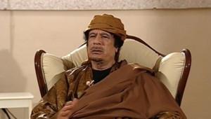 Mouammar Kadhafi sur France 24, le 7 mars 2011