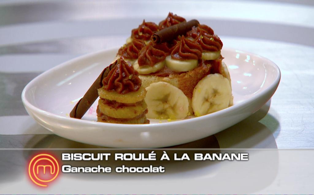 recette biscuit roul la banane ganache au chocolat refaire biscuit roul la banane. Black Bedroom Furniture Sets. Home Design Ideas