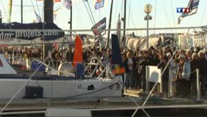 Vendée Globe : les admirateurs à quai