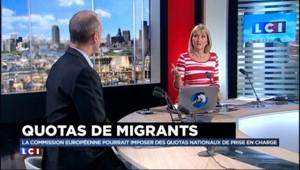 """Accueil des migrants : """"C'est ridicule, il y a des millions de Syriens présents dans les pays limitrophes"""""""