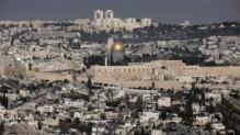 La vieille ville de Jérusalem.