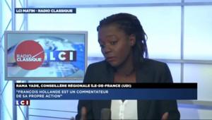 """Rama Yade : """"François Hollande en cette rentrée, l'homme des illusions perdues"""""""