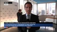 A Berlin, Valls déclare son amour aux entreprises en allemand