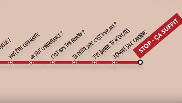 Campagne contre le harcèlement dans les transports publics