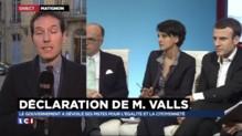 """Déclaration de Valls sur la mixité sociale : """"Il s'est placé en artisan"""""""