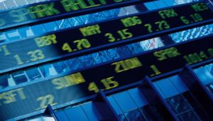 Digital stock market listings
