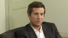 Guillaume Canet en interview pour le film L'Homme qu'on aimait trop