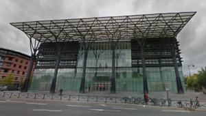 Le palais de justice de Melun
