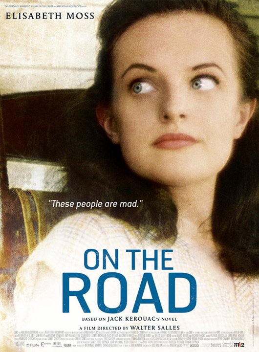 Sur La Route de Walter Salles, avec Sam Riley, Garrett Hedlund, Kristen Stewart, Elisabeth Moss