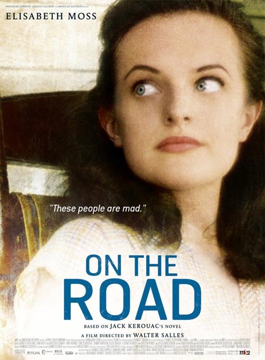 Sur La Route de Walter Salles, avec Sam Riley, Garrett Hedlund, Kristen Stewart, Elisabeth Moss